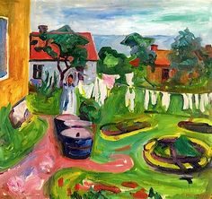 Clothes Edvard Munch