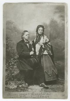 Henry Ward Beecher and Harriet Beecher Stowe. The Bowery Boys, Harriet Beecher Stowe, African American Culture, William And Mary, War Image, American Literature, New York Public Library, American Civil War, Historical Photos