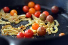 Sauteed Shrimp With Onions and Cherry Tomatoes | Award-Winning Paleo ...