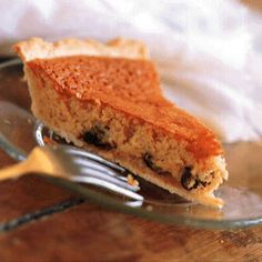 Vinegar Pie by Saveur. This sweet, custardlike pie is a traditional southern dessert. Retro Recipes, Pie Recipes, Baking Recipes, Dessert Recipes, Recipies, Southern Desserts, Southern Recipes, Canadian Recipes, Southern Food