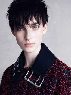 Publication: Vogue UK September 2015. Model: Julia Bergshoeff. Photographer: Patrick Demarchelier. Fashion Editor: Clare Richardson. Hair: James Pecis. Make-up: Sally Branka.