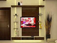 Tv Cabionet on Behance Tv Unit Furniture Design, Tv Unit Interior Design, Space Saving Furniture, Lcd Wall Design, House Ceiling Design, Wall Tv, Tv Wall Decor, Bedroom Bed Design, Bedroom Furniture Design