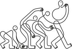 Single line illustration — Jonathan Calugi
