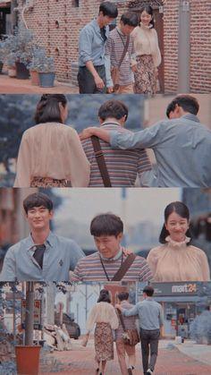 Korean Drama Quotes, Korean Drama Movies, Movie Couples, Cute Couples, Korean Actresses, Korean Actors, Legend Of The Blue Sea Wallpaper, Hyun Seo, Ouat