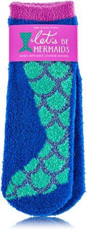 Let's Be Mermaids Shea-Infused Lounge Socks - Bath & Body Works   - Bath & Body Works