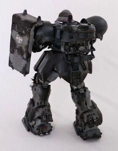 GUNDAM GUY: MG 1/100 Geara Doga - Diorama Build