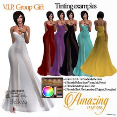 Formal Dress VIP Group Gift by AmAzInNg CrEaTiOnS