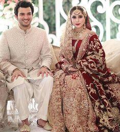 We can't get enough of gorgeous bride Bridal Mehndi Dresses, Pakistani Wedding Outfits, Pakistani Bridal Dresses, Pakistani Wedding Dresses, Bridal Outfits, Bridal Lehenga, Shadi Dresses, Pakistani Couture, Pakistan Bridal