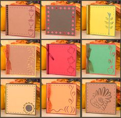 Linus' 3D Fall Cards SVG Kit. Easy to use on your Cricut once you've added them to your images.