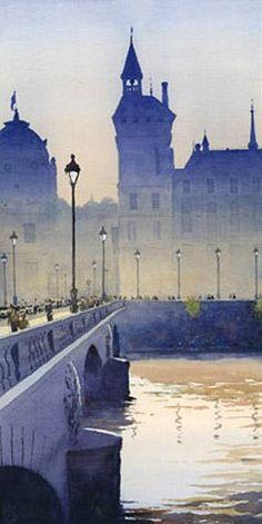Michael Reardon, aquarelle.