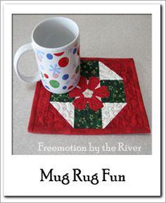 mug rug fun and lots of free quilt patterns