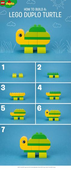 There are so many different creatures that your child can build with their LEGO DUPLO bricks. We've made a friendly turtle – why not try making one at home? Click to get more bricks for awesome builds like this.