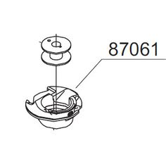 Futura QuintetQuartet /XL400/SEQS6000,/XL550bobbincase 416444401