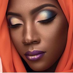 Likes, 100 Comments - Makeup For Black Women. Helpful makeup tips. makeup for all skin types and melanin skin Eye-makeup that looks fab. black women's makeup during the civil war Absolutely Stunning make up! Beautiful Eye Makeup, Flawless Makeup, Love Makeup, Makeup Tips, Beauty Makeup, Makeup Ideas, Beautiful Legs, Simple Makeup, Makeup Products