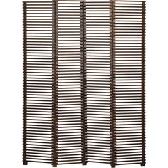 Crate & Barrel Ricci 4-Panel Room Divider ($499) ❤ liked on Polyvore