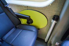 Removable Table - Outside Van