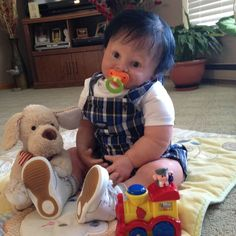 "Reborn Toddler (Boy) Regan 28"", 12 lbs. Reborn By: Deena Jarvis"