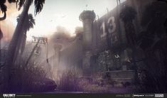 Call of Duty: Ghost - Concept Art