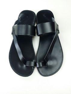 ba8ab194b men martin margiela leather sandals - Google zoeken Black Leather Flats
