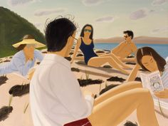 Alex Katz, Round Hill, 1977, partial and promised gift of Barry and Julie Smooke