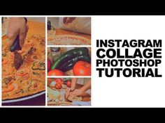 Photoshop Cs5 Tutorial: Instagram Style Photo Collage - YouTube