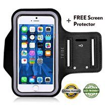 Tribe AB66 Water Resistant Sports Armband with Key Holder for iPhone 6 Plus, 6S…