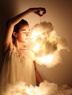DIY Cloud Lights for your Wedding.