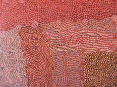 Maringka Burton Anamaruku Piti Tjuta (Caterpillar Dreaming) Acrylic on linen, 91 x 122 cm Iwantja Arts APY Lands. For more Aboriginal art visit us at www.mccullochandmcculloch.com.au #aboriginalart #australianart #contemporaryart