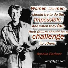 "Today in Mighty Girl history, aviator Amelia Earhart became the first person to fly solo from Hawaii to the US mainland. Earhart took off from Honolulu, Hawaii on January 11, 1935 and landed the next day in Oakland, California. This transoceanic flight had been attempted by many others previously but Earhart, in her Vega 5B which she nicknamed ""old Bessie,"" was the first to successfully make the journey. Her record-breaking 2,400 mile flight lasted 18 hours and she was met by a boisterous…"