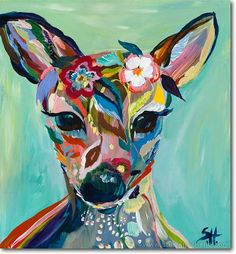 Abstract Fawn