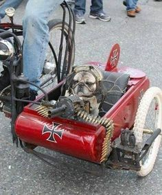 """WWII flying ace, """"Pugs"""" McHeinie, is ready for this year's 4th of July parade... ~~ Houston Foodlovers Book Club"""