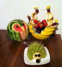 sjov frugt børn - Google-søgning