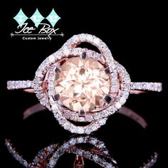 Custom Order Third of Three Payments Moissanite by InTheIceBox