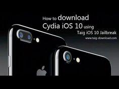 Taig iOS 10  Jailbreak for iOS 10 Cydia download & Install