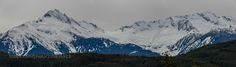 tantalus mountain winter panorama - A nice winter scene at the Tantalus range near Squamish