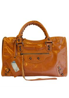 Image of Baginc The Route 66 Trendy Cowhide Leather Bag Camel