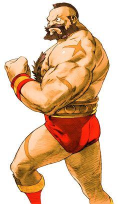 Zangief from Marvel vs. Capcom 2: New Age of Heroes