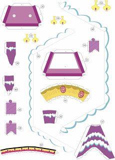 Quirky Artist Loft: Papercraft - my little pony - sugar cube corner