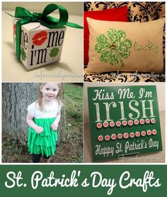 DIY St.Patrick's Day Crafts | Get ready for St. Paddy's Day with these fun craft ideas!