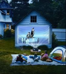 Movie in the park in your own back-yard!   Romantic evenings await and awesome sleep-overs to come ;0 Gotta get one of these.