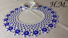 Diy Jewelry, Beaded Jewelry, Beaded Necklace Patterns, Beaded Collar, Hand Painted Furniture, Beads And Wire, Loom Beading, Seed Beads, Diy And Crafts