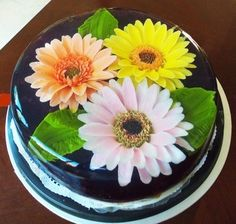 flores encapsuladas en gelatina