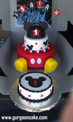 Best Mickey smash cakes ideas on Pinterest
