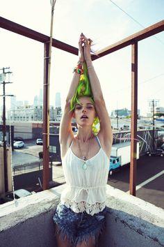"""Chloe Norgaard for theFor Love  Lemons """"American Dreamz"""" Summer 2013 Lookbook"""