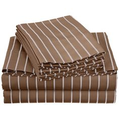 Simple Luxury Bahama 600 Thread Count Sheet Set Color: Taupe, Size: Extra-Long Twin