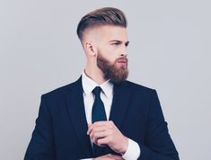 Undercut Hairstyles, Suit Jacket, Suits, Jackets, Fashion, Down Jackets, Moda, Fashion Styles, Suit