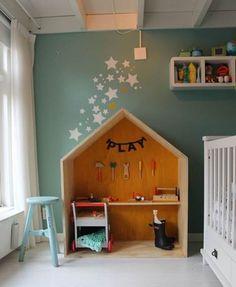 Muebles infantiles con forma de casa - Decoracion - EstiloyDeco