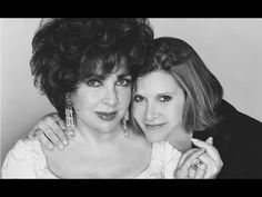 RIP Carrie Fisher… Elizabeth Taylor and Carrie Fisher (the daughter of Debbie Reynolds and Eddie Fisher) Carrie Fisher Young, Eddie Fisher, Hollywood Cinema, Classic Hollywood, Old Hollywood, Cleopatra, Debbie Reynolds Carrie Fisher, Star Trek Crew, Turner Classic Movies