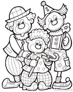 Colouring Pages, Coloring Pages For Kids, Coloring Sheets, Coloring Books, Clown Crafts, Shadow Drawing, Clown Party, Halloween Coloring Pages, Baby Clip Art