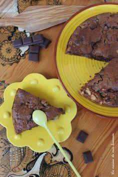 Gâteau moelleux banane et chocolat
